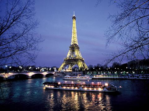 Dinner at The Restaurant 58 Eiffel Tower, Seine River Cruise and Moulin Rouge Show (EX24GC)