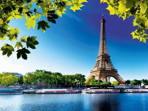 Small group City Tour of Paris by Minibus followed by a Lunch at Restaurant 58 Eiffel Tower (EX2B)
