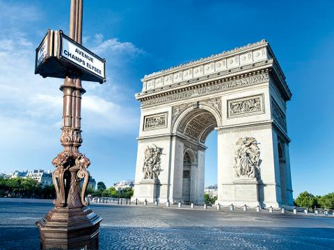Private 4 hours, Paris City Tour, including a 1 Hour Seine River Champagne Cruise  (T02CHA-VIP)